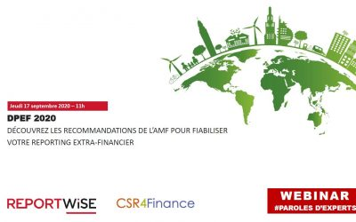 Webinar – DPEF 2020 : fiabiliser votre reporting Extra-Financier